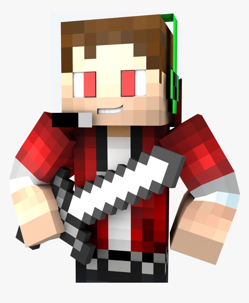 Transparent Minecraft Explosion Png - Red Render Skin Minecraft, Png Download, Free Download