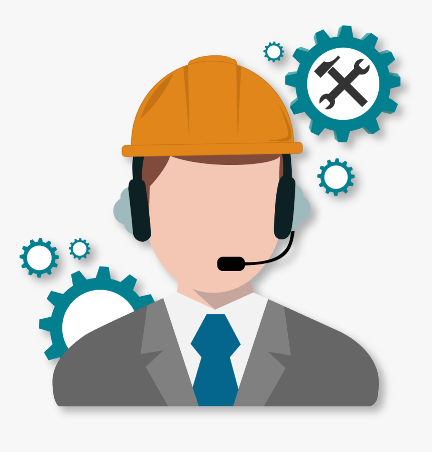 Tech-support - Cartoon, HD Png Download, Free Download