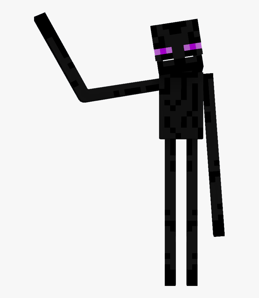 Graphic Transparent Library Endie Willcraft Animations - Minecraft Monster School Enderman, HD Png Download, Free Download