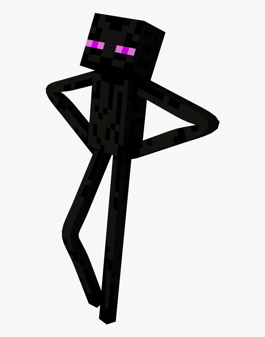 The Official Plush Survivor Wiki - Transparent Minecraft Enderman Png, Png Download, Free Download