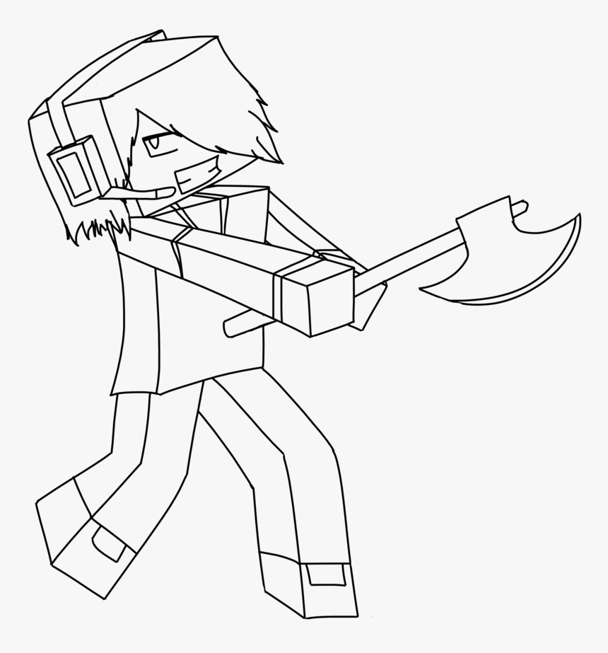 Minecraft Coloring Pages : Free Printable Minecraft PDF Coloring ... | 923x860