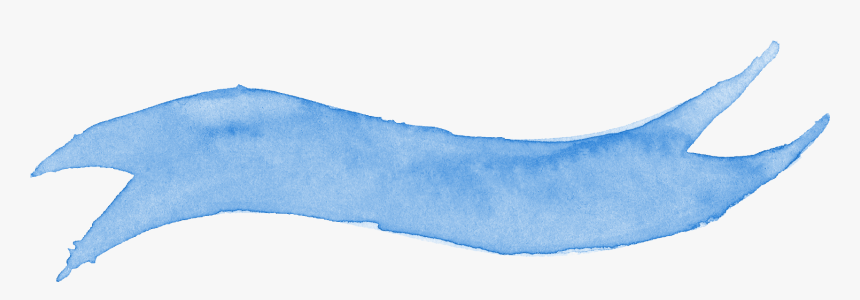 Free Download - Snow - Watercolor Ribbon Banner Png, Transparent Png, Free Download
