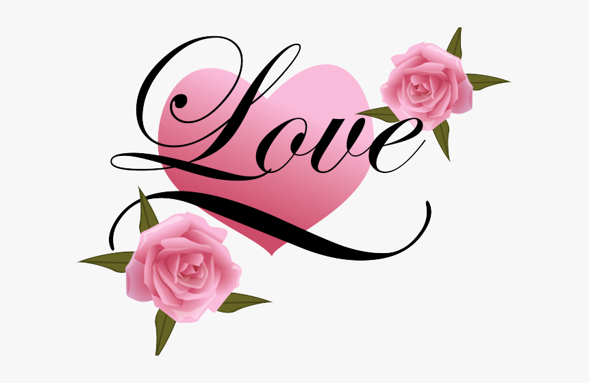 Heart Tattoos Clipart Wedding Flower - Beautiful Love You Mom, HD Png Download, Free Download