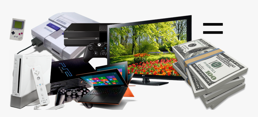 Webuytv - Quick Cash For Electronics, HD Png Download, Free Download