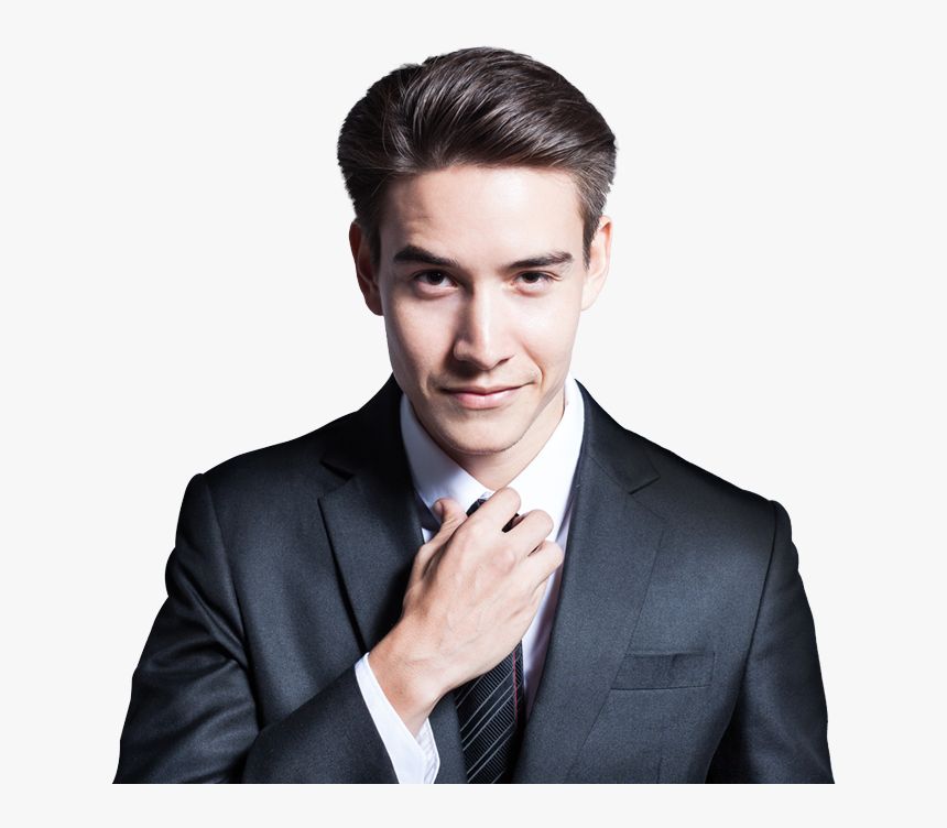 "Men""s Hairstyle For Executives , Png Download - Black Masquerade Mask Men, Transparent Png, Free Download"