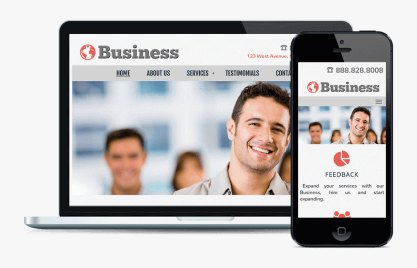 The Business Html Website Template - Tooth Whitening, HD Png Download, Free Download