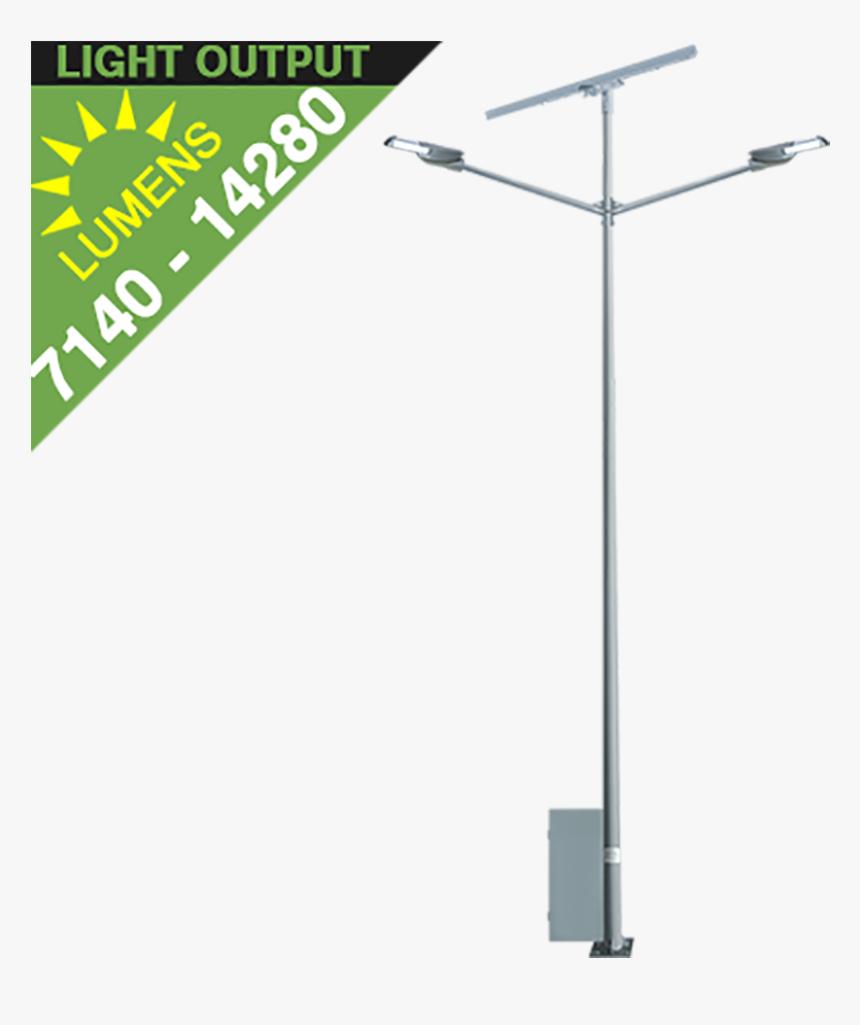 Sl36 Solar Street Light 35w To 135w - Street Light, HD Png Download, Free Download