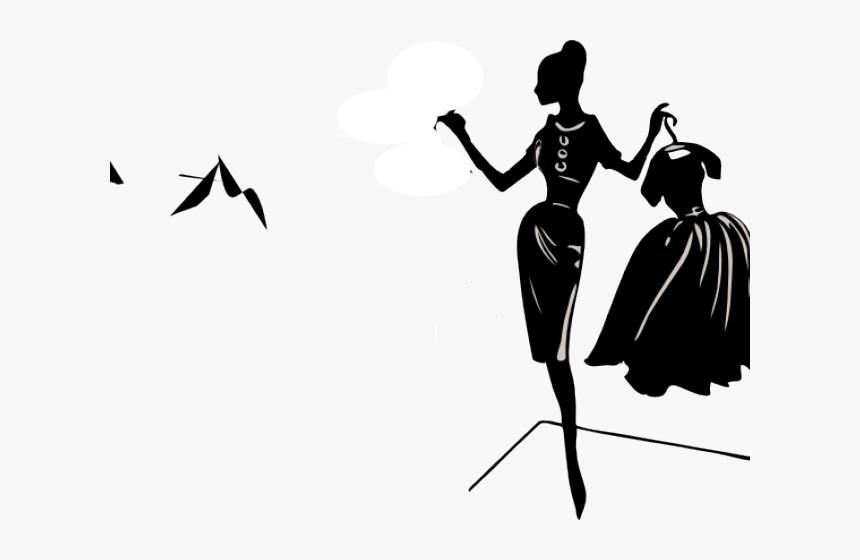 Fashion Clipart Fashion Girl Fashion Designer Clip Art Hd Png Download Kindpng