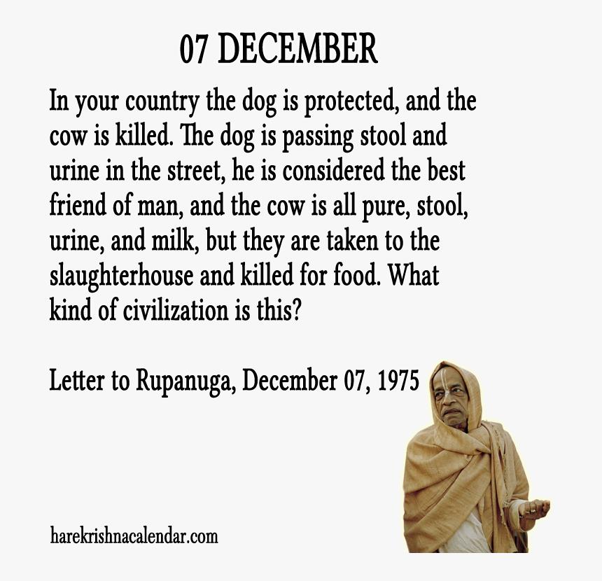 srila prabhupada quotes for month caliber collision