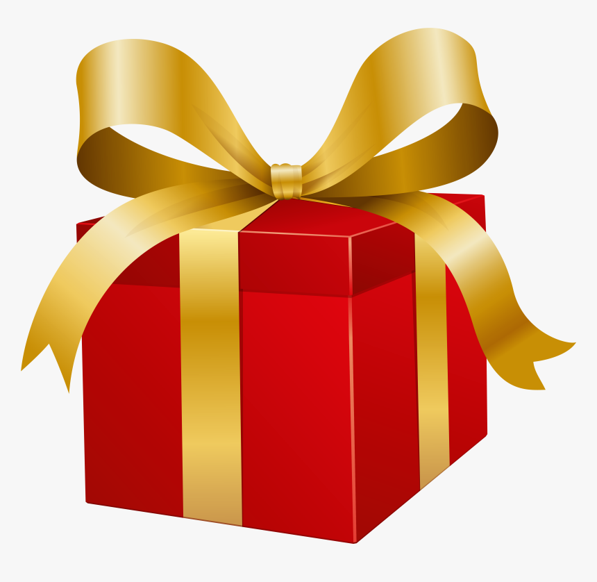 Transparent Christmas Present Png Gold Gift Box Png Hd Png Download Kindpng