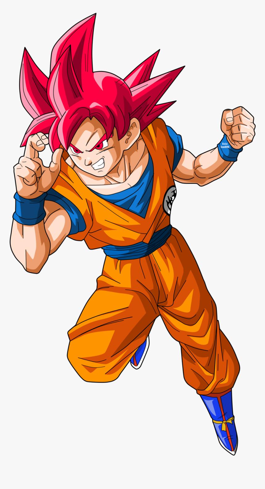 15 Super Saiyan God Png For Free Download On Mbtskoudsalg - Goku Ssj God Png, Transparent Png, Free Download