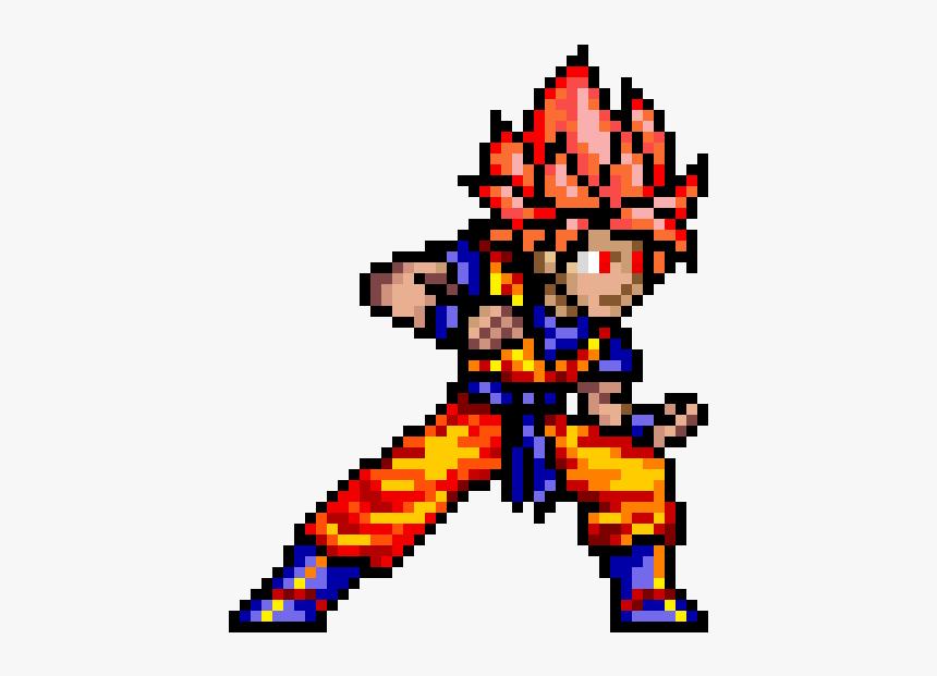 Dragon Ball Pixel Art, HD Png Download, Free Download