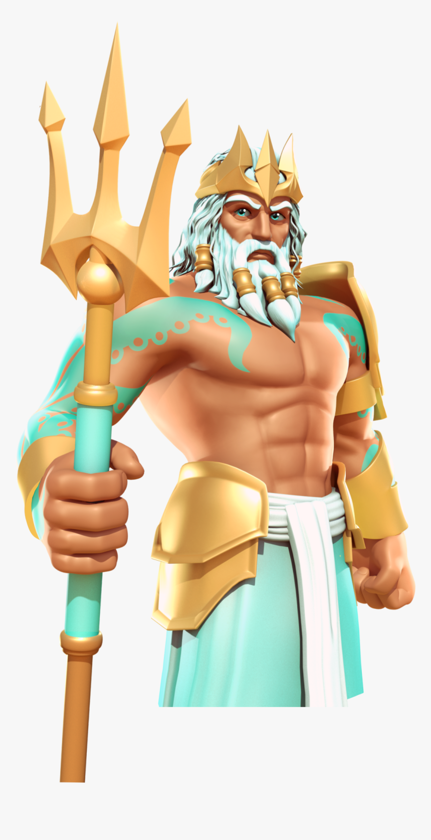 Gods Of Olympus Wikia - Gods Of Olympus Poseidon, HD Png Download, Free Download