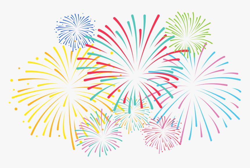 Transparent Background Fireworks Clipart Hd Png Download Kindpng