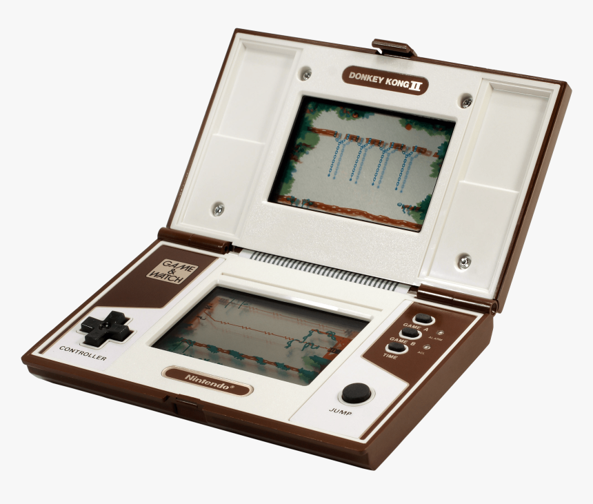 Transparent Gameboy Clipart - Donkey Kong 2 Console, HD Png Download, Free Download