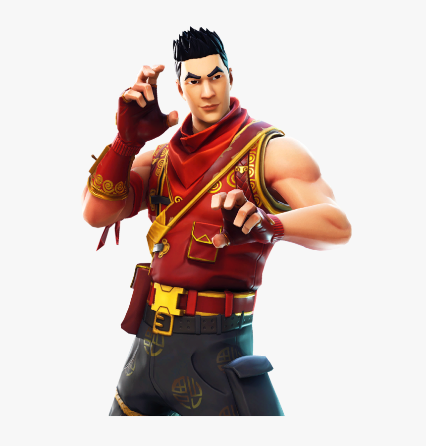 Crimson Scout Featured - Crimson Scout Fortnite Skin, HD Png Download, Free Download