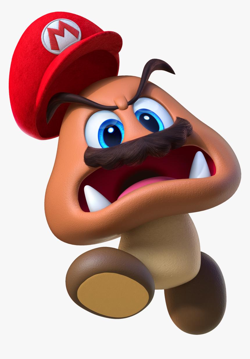 Mariogoombaodyssey - Super Mario Odyssey Goomba Mario, HD Png Download, Free Download