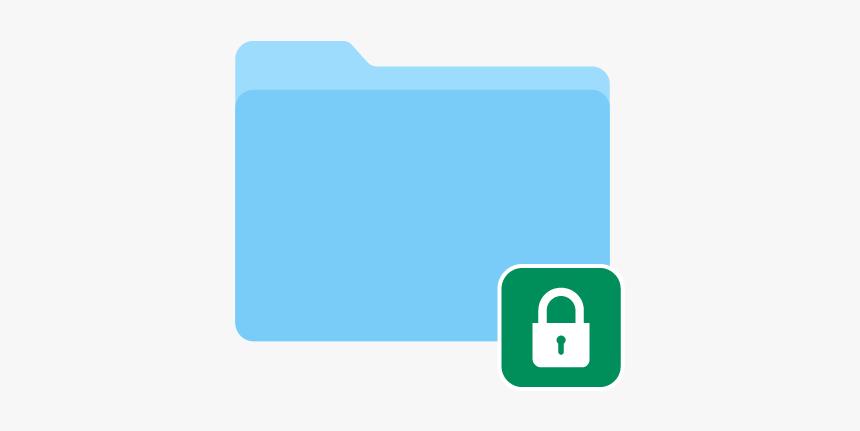 4-1 Help Encrypted Folder Mac - Encrypted Folder Icon, HD Png Download, Free Download