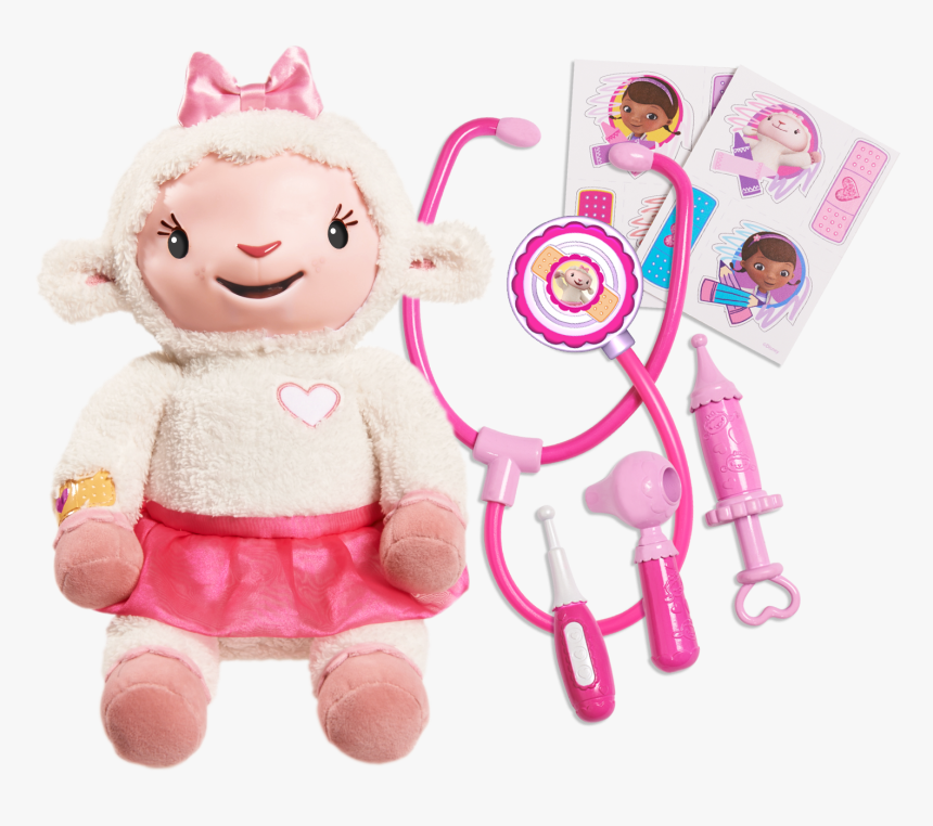 Doc Mcstuffins Take Care Of Me Lambie, HD Png Download, Free Download