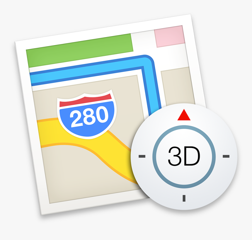 Mail Icon Png -yosemite Mac Os X Icons - Apple Mac Maps Icon, Transparent Png, Free Download