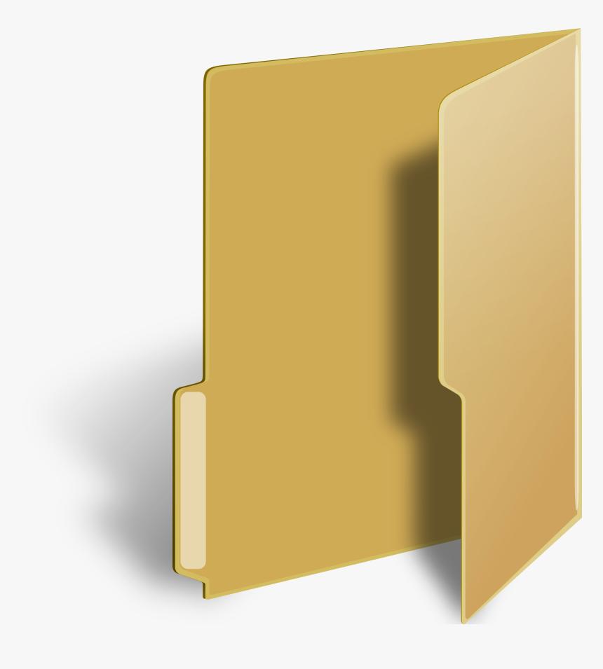 Vista Style Folder Clip Arts - Windows Folder Icon Transparent, HD Png Download, Free Download