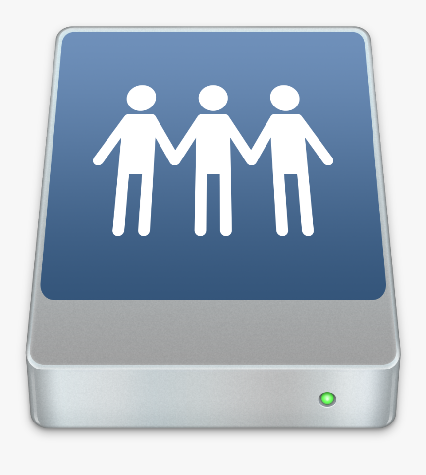 Network Drive Icon Mac, HD Png Download, Free Download