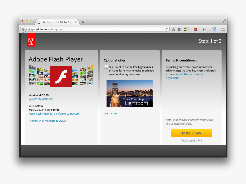 Flash Player Download Page Adobe Flash Player Hd Png Download Kindpng