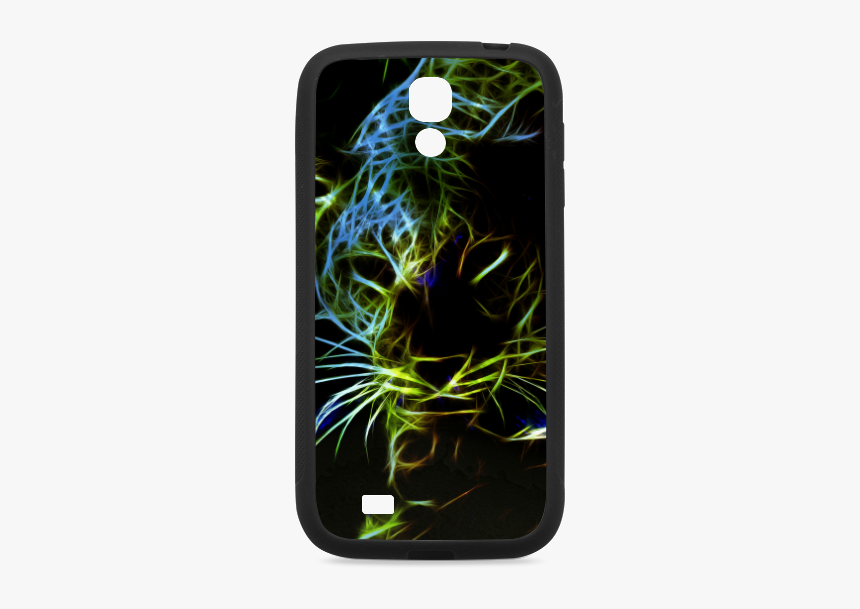 Neon Leopard Rubber Case For Samsung Galaxy S4 - Handyhülle Für Samsung Galaxy J5 Tiermotiv, HD Png Download, Free Download