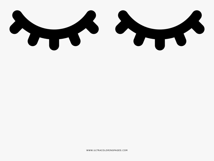Clip Art Ojos De Unicornio Png Cilios Molde Para Imprimir