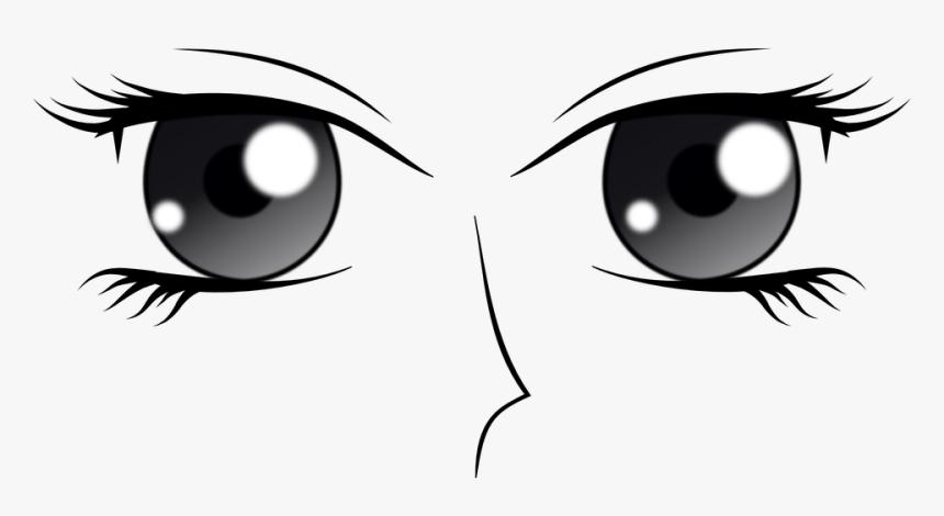Olhos Manga Anime Feminino Desenhos Animados Anime Eyes Left