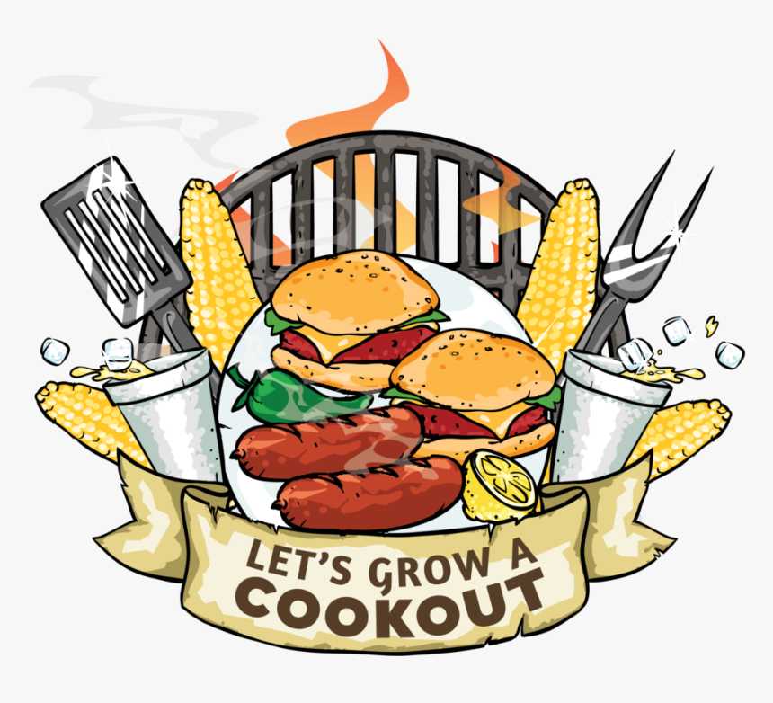 """Let""""s Grow A Cookout - Clipart Cookout, HD Png Download, Free Download"""