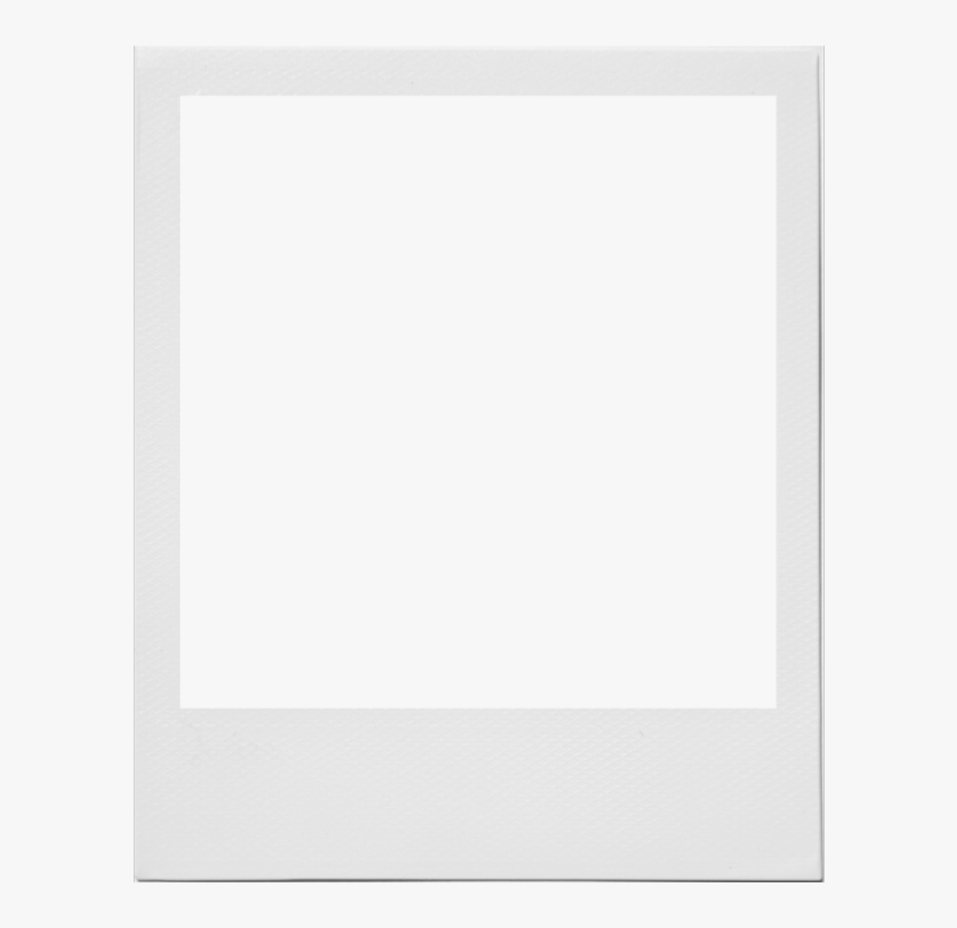 #cgnyb #edit #overlay #png  #polaroid #clipart #white - Polaroid Frame Template Transparent, Png Download, Free Download