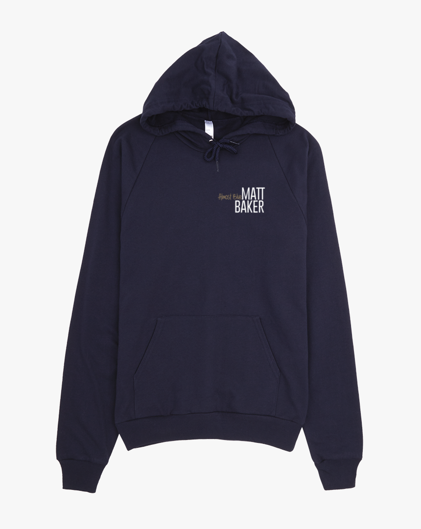 American Apparel Navy Flat Front Mockup - First Gen Cummins Hoodie, HD Png Download, Free Download