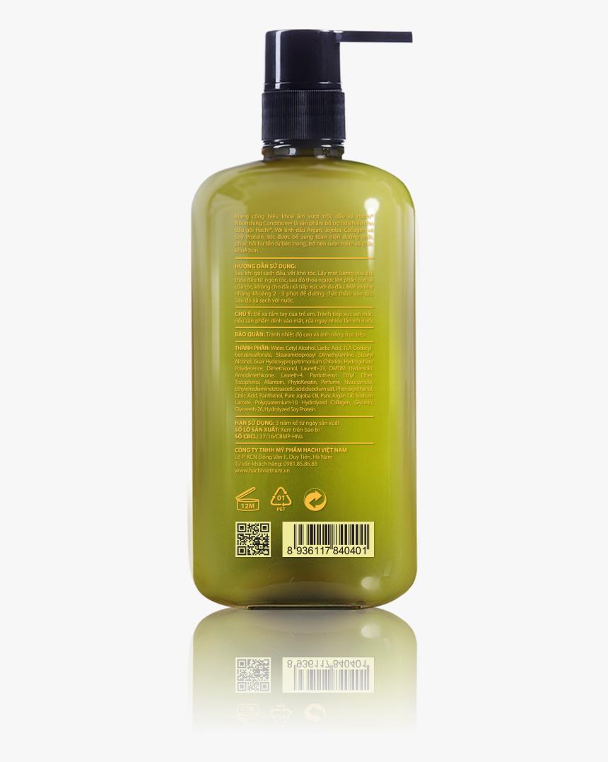 Nourishing Conditioner/dầu Xả Argan Dành Cho Tóc Hư - Plastic Bottle, HD Png Download, Free Download