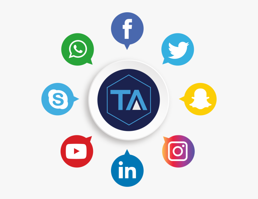 All Social Media Png, Transparent Png, Free Download