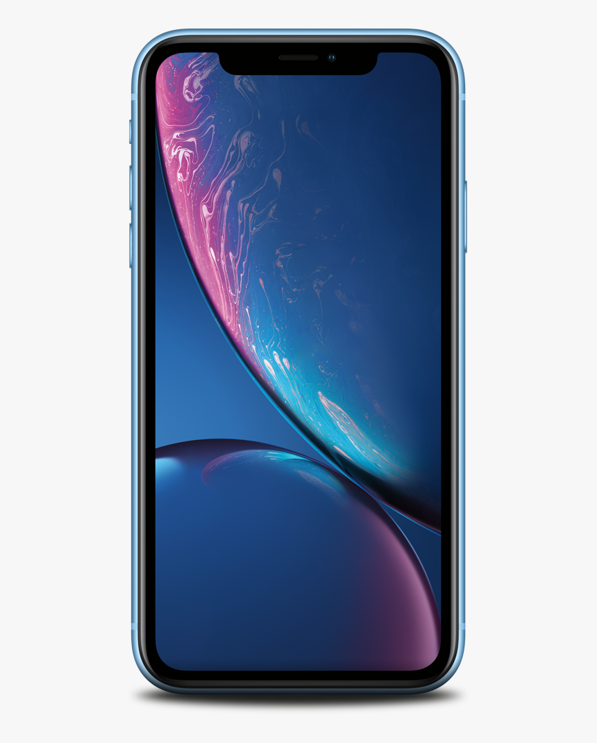 Iphone Xr Blue Front, HD Png Download, Free Download