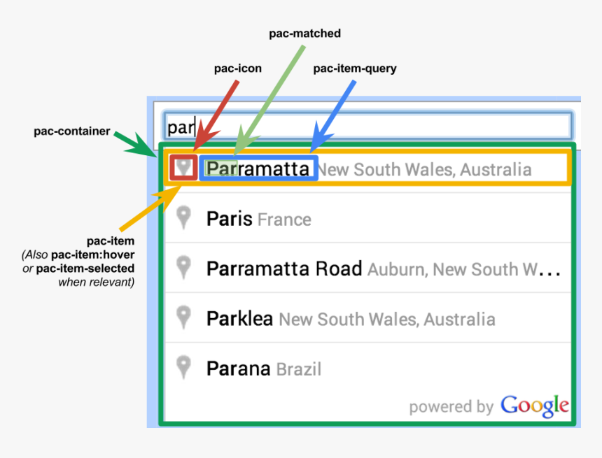 Transparent Search Box Png - Places Not To Search On Google Maps, Png Download, Free Download