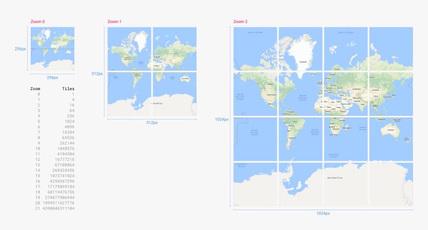 Google Maps Tiles Zoom Level Hd Png Download Kindpng
