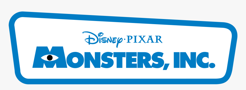 Monsters Inc Monsters Inc Logo Transparent Hd Png Download Kindpng