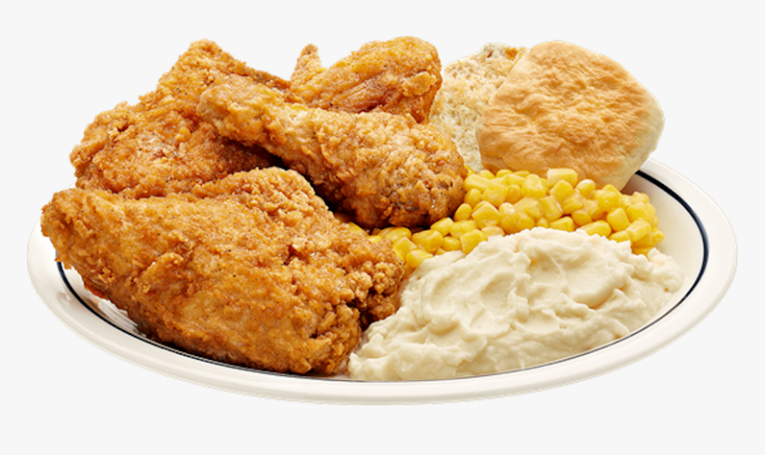Fried Chicken Dinner National Fried Chicken Day Clip - Fried Chicken Dinner Transparent, HD Png Download, Free Download