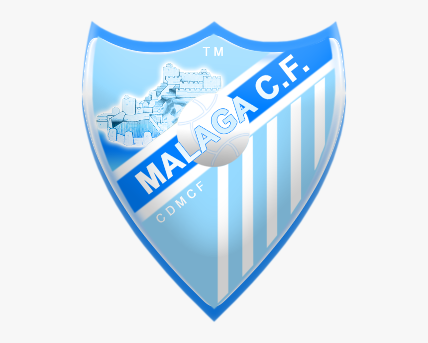 Escudo Malaga Cf Png, Transparent Png, Free Download