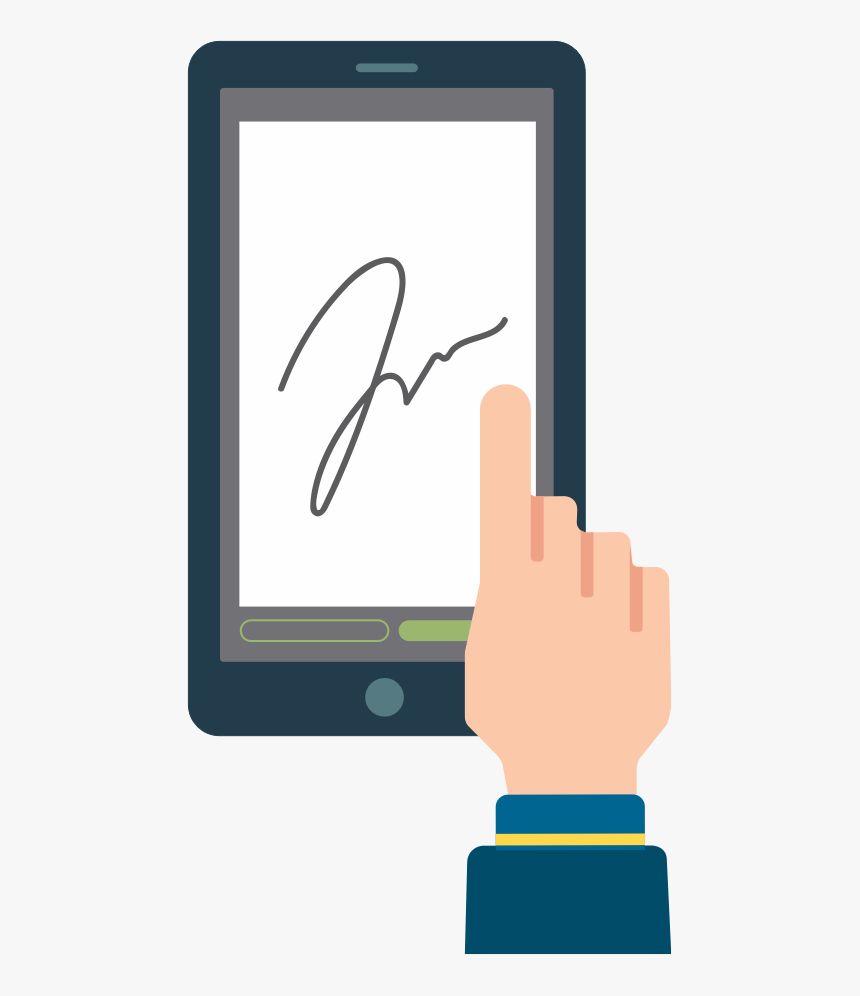 Advanced - Electronic Signature Clipart Png, Transparent Png, Free Download