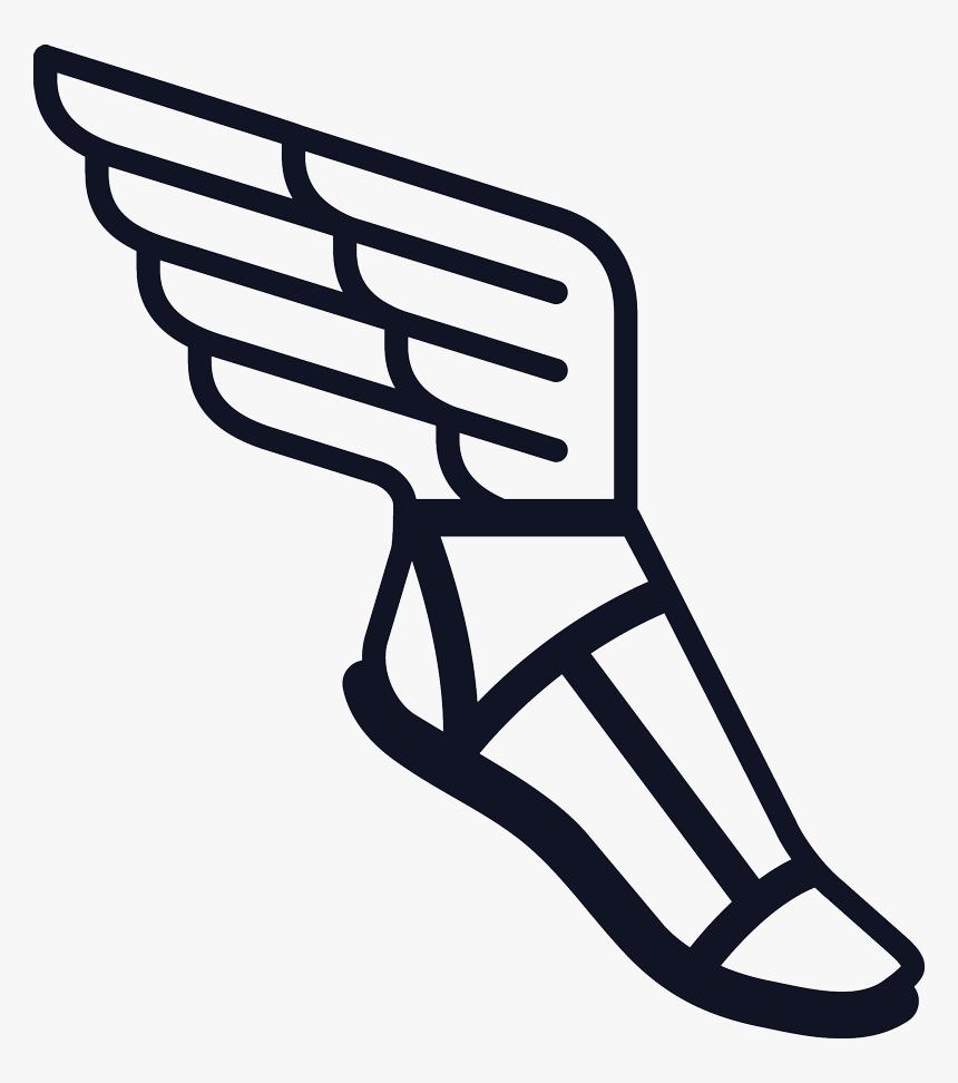 Hermes Talaria Sandal Greek Mythology Clip Art - Greek God Hermes Boots, HD Png Download, Free Download