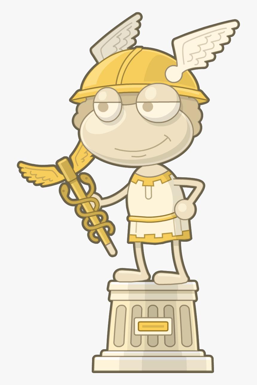 Zeus Clipart Hermes God - Poptropica Mythology Gods, HD Png Download, Free Download