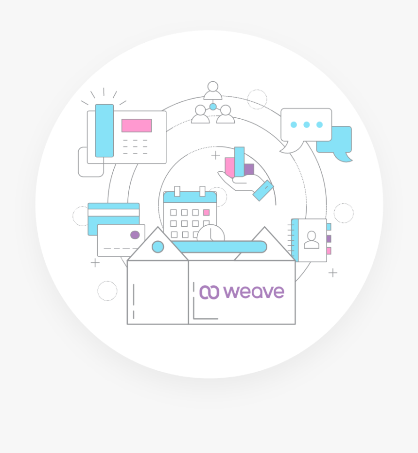 Weave Is A Business Toolbox - Circle, HD Png Download, Free Download
