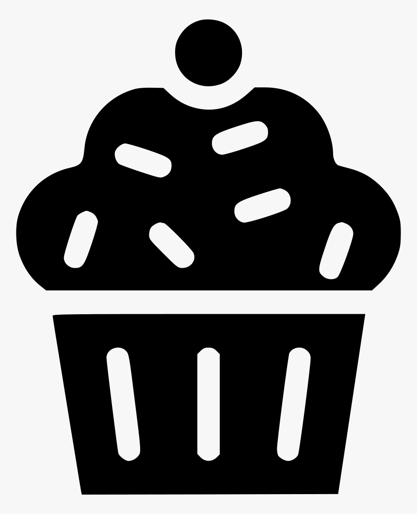 Muffin Cup Cake Dessert Sweet Pudding, HD Png Download, Free Download
