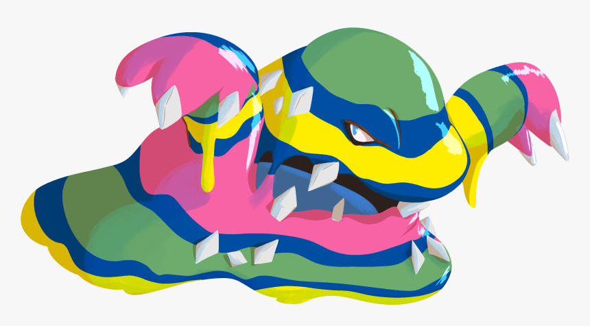 Alolan Muk Transparent Clipart , Png Download, Png Download, Free Download
