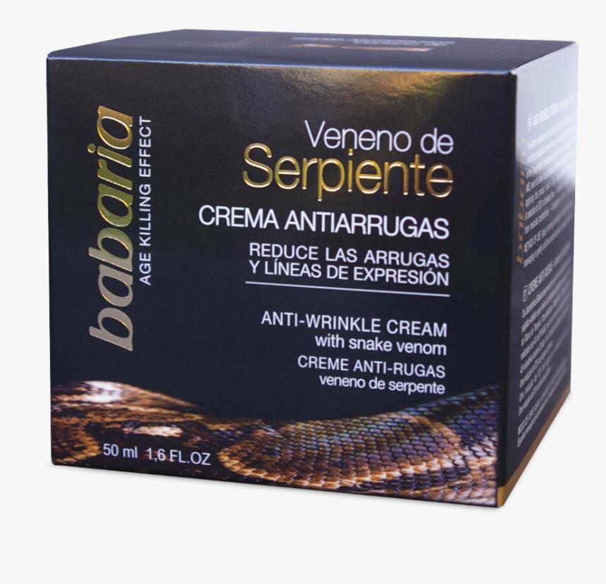 Crema Facial De Veneno De Serpiente De Babaria, HD Png Download, Free Download