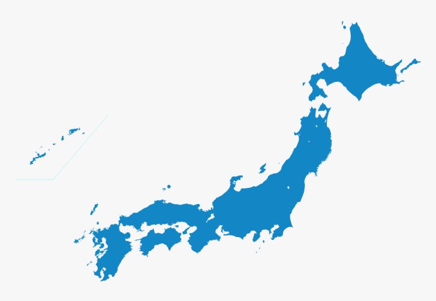 Japan Map Transparent Png, Png Download, Free Download