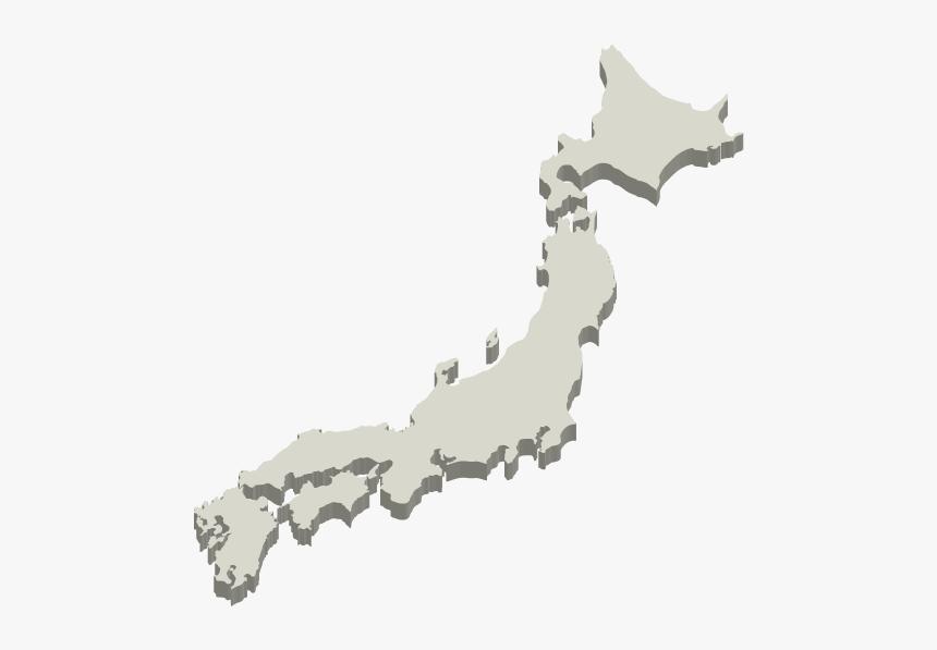 Japan Map Png, Transparent Png, Free Download